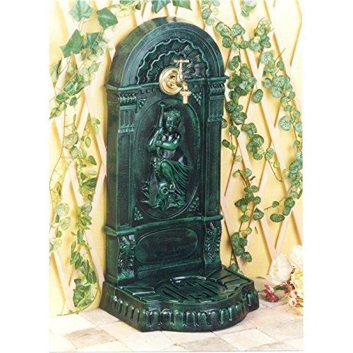 Fontaine murale sur pied - style antique - aluminium - 83 cm: Amazon ...