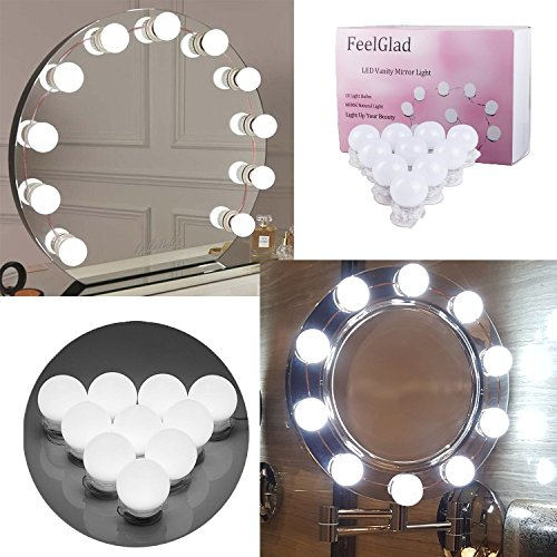 Diy Hollywood Style Led Mirror Light With Touch Dimmer And Power Supply Makeup Mirror Vanity Led Light For Dressing Table Pure And Mild Flavor Lights & Lighting