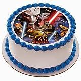 8'' Round Cake - Star Wars Rebels - Edible Cake or Cupcake Topper - D-35923