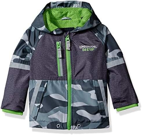 London Fog Baby Boys' Camouflage Print Active Jacket