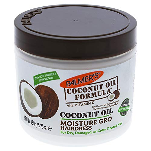 - Palmers Coconut Oil Moisture Gro Hairdress Jar 5.25 Ounce (155ml)