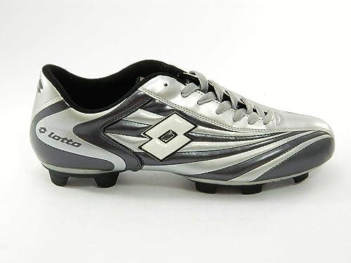 b0e716236a3fb Lotto - Lotto Zapatos de Fútbol Cuero Cordones gris Vertigo III - Gris
