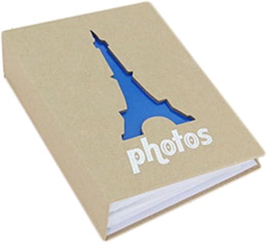 Chytaii Album-Photo Album-Souvenir en Kraft DIY R/étro 6 Pouces pour Adulte Enfant B/éb/é 100 Photos Cadeau F/ête des M/ères