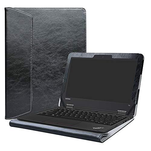 Alapmk Protective Case Cover For 11.6 Lenovo ThinkPad 11e 5th Gen&4th Gen&3rd Gen/Yoga 11e 5th Gen&4th Gen&3rd Gen/11e Chromebook 4th Gen&3rd Gen/Yoga 11e Chromebook 4th Gen&3rd Gen Laptop,Black