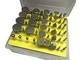 REAMTOP 50pc Diamond Burr Set-Ceramics Tile Glass Lapidary - Best Reviews Guide