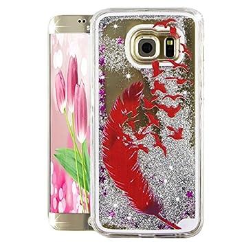 buy popular 3b253 c32d2 Samsung Galaxy S7 Edge Case for Girls,Samsung Galaxy S7 Edge Hard  Case,Samsung Galaxy S7 Edge Liquid Case,Galaxy S7 Edge Case,Galaxy S7 Edge  Case ...