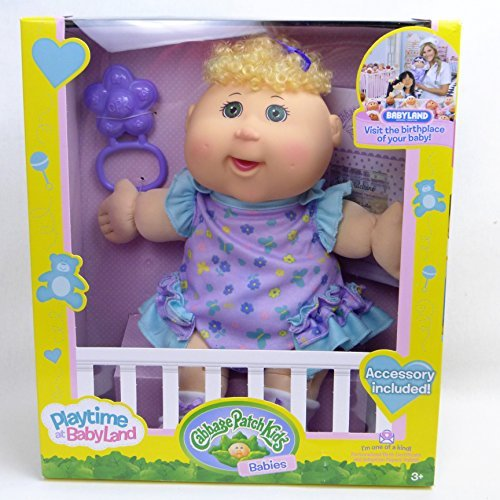 Cabbage patch kids Playtime Babies Blonde Baby Cabbage Patch