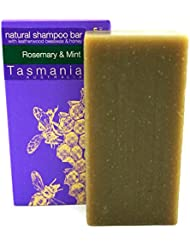 Rosemary & Mint SHAMPOO Bar with Leatherwood Honey | 100% Natural & Organic Ingredients Sulfate