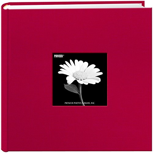 Fabric Frame Cover Photo Album 200 Pockets Hold 4x6 Photos, Champion Burgundy (Pvc Buy Fabric)
