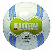 Derbystar Uni Fußball Flo Gamma Pro Tt, Weiss/Grün/Blau/Gelb, 5, 1292500164