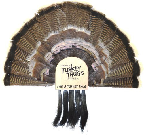 Quaker Boy Turkey Thugs Fan Mount 5 Beard Holder by Quaker Boy