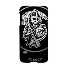 Samsung Galaxy S5 Case, Hard Protective Cases TV Show Sons Of Anarchy for Samsung Galaxy S5 Customized Cover