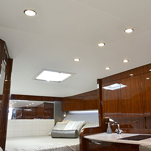 Lumitec-LED-Exterior-or-Interior-Down-Light-Flush-Mount-High-Output-Slim-Profile