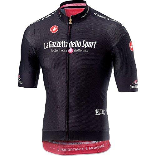 Castelli Giro Race Full-Zip Jersey - Men's Nero, L