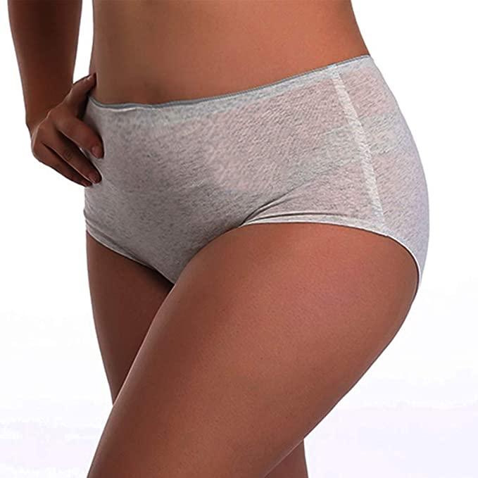 Sujisi Womens Briefs Panties Bikini Panties Hipster Briefs Cotton Underwear Pack of 3