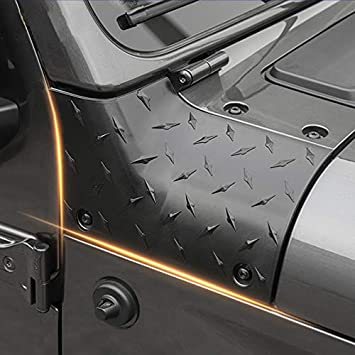 Cowl Body Armor Outer Cowling Cover for Jeep Wrangler 2019 JL Unlimited Rubicon /& Sahara