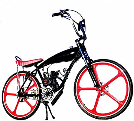Amazon com: COMPLETE DIY 2-STROKE 66CC/80CC MOTORIZED