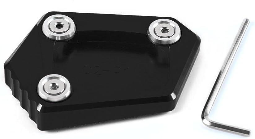 Piastra ingranditore per estensione cavalletto laterale in alluminio CNC Pad per H O N D A Forza 300 2017 2018 2019