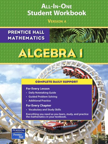 PRENTICE HALL MATH ALGEBRA 1 STUDENT WORKBOOK 2007 (Prentice Hall Mathematics)