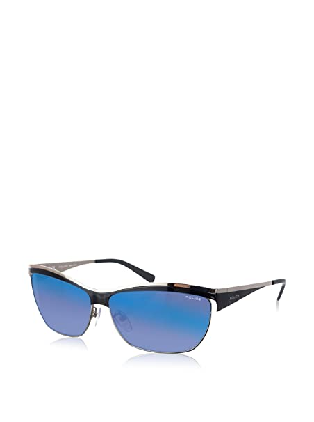 Police Gafas de Sol S8764M-0S40 (60 mm) Plata: Amazon.es ...