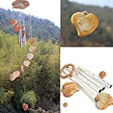 Wind Chime Craft - Wood Wind Chimes - Woodcraft Wind Chime Home Garden Window Decor Ornament Craft Gift - #04 ( Home Wind Chimes )