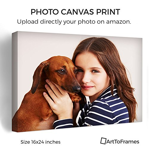 ArtToFrames Photo To Canvas Gallery Wrap 1.5 Inch – 16x24 (Print Photo Personalized Canvas)