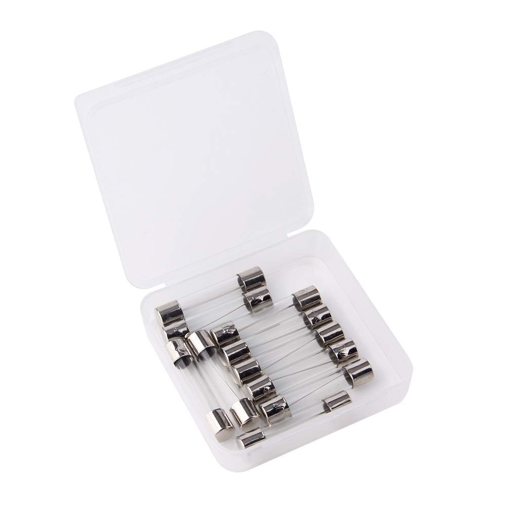 1/Ampere 10/St/ück Pcs f1al fast-blow Sicherung 1/A 250/V Glas Sicherungen 6/x 30/mm F1/A