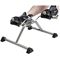 IBS Steel Mini Pedal Exercise Bike Exerciser Cum Cardio Cycle with Digital Display Fast Calories Burn Weight Loss Kit for Men & Women