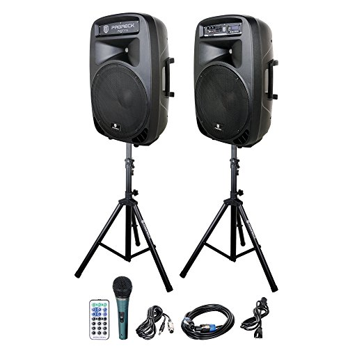 2 Way Active Pa Speaker - 9