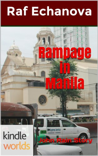 book cover of Rampage in Manila