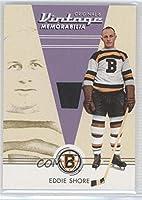 Eddie Shore (Hockey Card) 2003-04 Parkhurst Original Six Boston Bruins - Memorabilia #BM-25