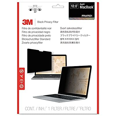 3M Privacy Filter for Apple Macbook 12-inch (PFNAP001), Model: PFNAP001, Electronic Store & More by 3M
