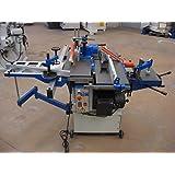 Norwik UC 250 Machine combinée pour travailler le bois -7fonctions