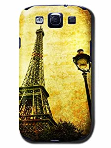 DIY Vintage Eiffel Pattern Hard Case Cover Back Skin Protector For Sumsang Galaxy S3