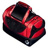 Pet Gear Aviator 3 in 1 – Carrier/Seat/Bed (Large – 20L x 11W x 11.5H for pets upto 20 lbs, Ruby Red), My Pet Supplies