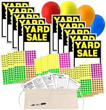 Amazon.com: Kit de cartel de venta de patio con pegatinas de ...