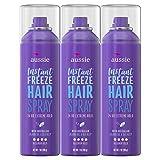 Aussie Hairspray, with Jojoba & Sea Kelp, Strong Hold, 7 fl oz, Triple Pack