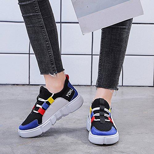 Transpirables señora Zapatillas Gimnasio Mujer para Zapatillas Deporte Zapatos Deporte Correr Casual Sneakers de de Deportivas Running para qvHBq