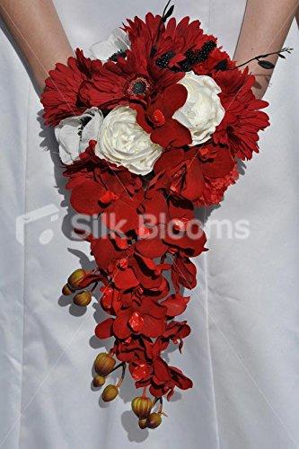 Amazon.de: & Gerbera rot, Weiß, Orchidee & Phaleanopsis Rosen ...