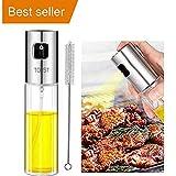 Best Oil Sprayers - Olive Oil Sprayer, Transparent Food-grade Glass Oil Spray Review