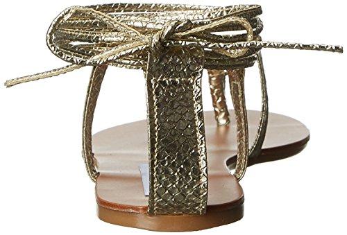 Steve Madden Damen Werkit Sandalen mit Riemchen Multicolore (Gold Snake)