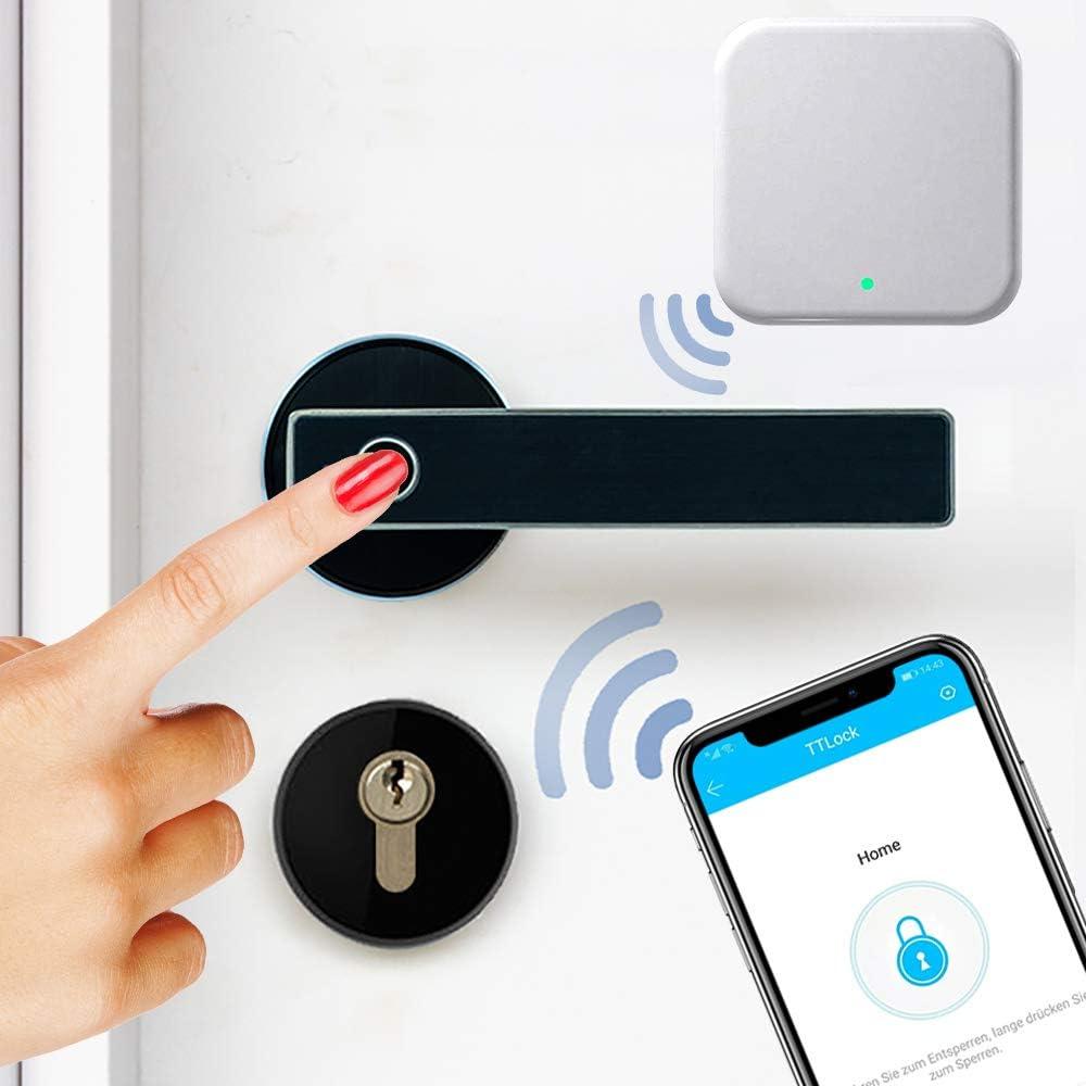 Mit /österreichischem Support! SOREX WiFi Gateway f/ür Fern/öffnung Von /überall auf der Welt Ihre T/üre /öffnen Zubeh/ör f/ür den SOREX FLEX Bluetooth T/ürgriff mit Fingerprint