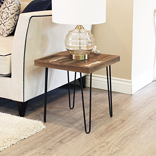 Set of 4 19'' Furniture Hairpin Metal Legs (19-inch) Heavy Duty Use for Wood Tabletop by WELLAND (Image #6)