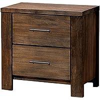 Furniture of America CM7072N Elkton Oak Nightstand