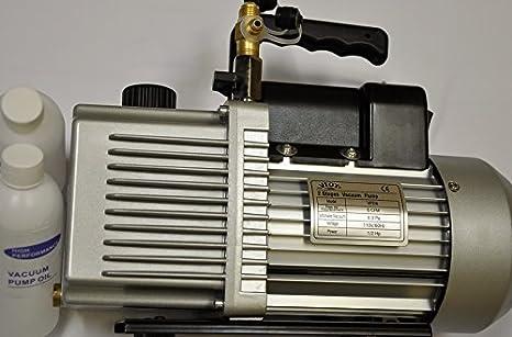 Other HVAC Tools 2-Stage Rotary Vane Deep Vacuum Pump 12CFM