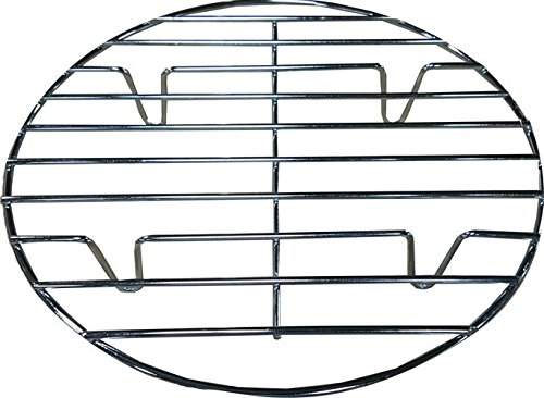 - Bioexcel Round Chrome Plated 11 Inch/28 Cm Steamer Rack For Cooking - Choose Sizes 8 Inch To 20 Inch
