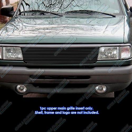 - APS Fits 93-97 Ford Ranger Black Main Upper Billet Grille Insert #N19-H31058F