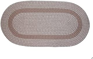 product image for Bristol 3-Piece Braided Rug Set (Sandstone)