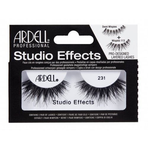 (3 Pack) ARDELL Studio Effects Lashes - 231 Black