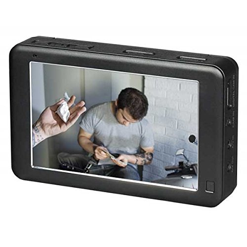 (HD 1080p Touchscreen Micro DVR with 5-inch Screen, 320GB Hard Drive Storage, SD Card,)